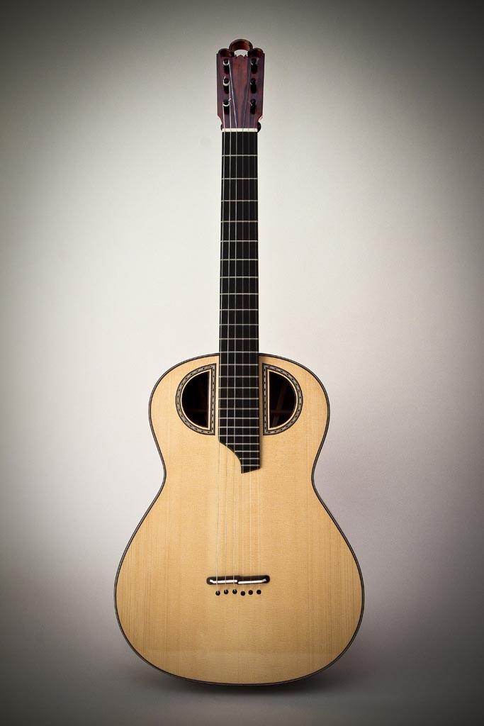 experimental classical guitar front view florian vorreiter lutherie. Black Bedroom Furniture Sets. Home Design Ideas